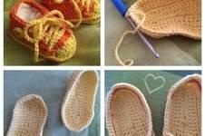 Makerist - Gehäkelte Baby-Schuhe / Baby Chucks - 1