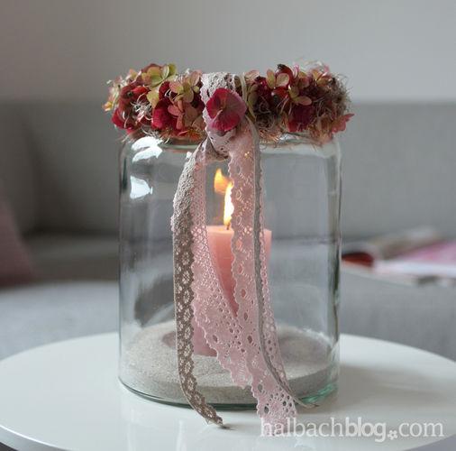 Makerist - Herbstdeko: Beeren-Blüten-Kranz mit Spitze - DIY-Projekte - 1
