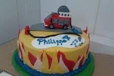 Makerist - Feuerwehr-Geburtstagstorte - 1