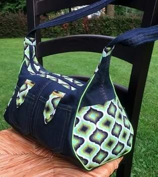 Makerist - Upcycling-Jeanstasche Ladybag von Keko-Kreativ - 1