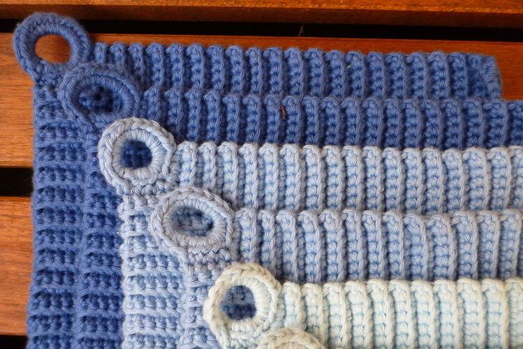 Makerist - schöne Baumwoll Topflappen - Häkelprojekte - 2
