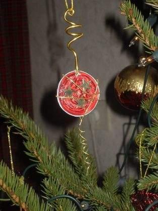 Makerist - Kaffeekapsel-Weihnachtsanhänger - 1