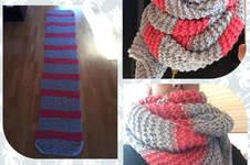 Makerist - Schal nach Anleitung von Nina Schweisgut - 1