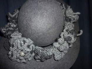 Makerist - graues Hutband - 1