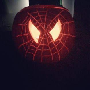 Makerist - Spiderman Halloween Pumpkin - 1