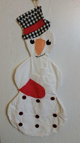 Makerist - Weihnachtskalender Schneemann - Nähprojekte - 1