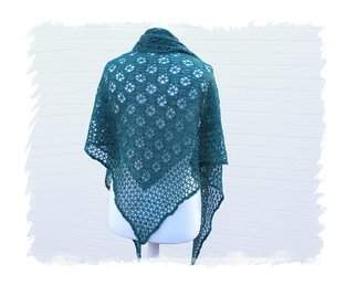 "Makerist - Dreieckstuch ""Flying Wheels Shawl"" - 1"