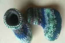 Makerist - bunte Babypuschen - 1