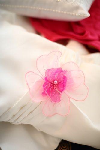 Makerist - Organza-Blume für das Blumenmädchenkleid - Nähprojekte - 1