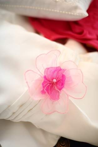 Makerist - Organza-Blume für das Blumenmädchenkleid - 1