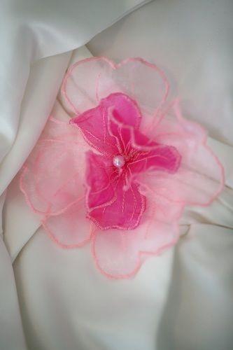 Makerist - Organza-Blume für das Blumenmädchenkleid - Nähprojekte - 2