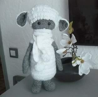 Makerist - Le mouton tout doux en habit d'hiver - 1