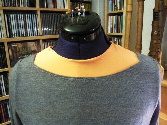 Makerist - FrauMarlene aus dünnem Strickstoff - Nähprojekte - 2