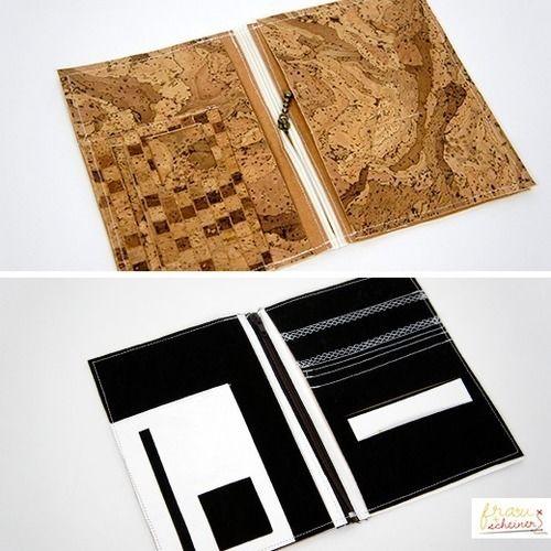 Makerist - Herren Brieftasche aus Kork - Nähprojekte - 1
