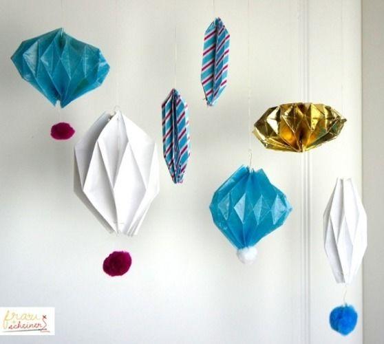 Makerist selbermachen leicht gemacht - Origami weihnachtsdeko ...