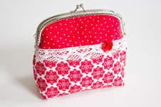 Makerist - Clipbörse: Kleine Handtasche / Kosmetiktasche - 1