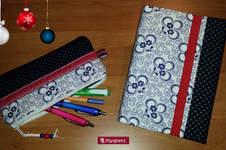 Makerist - Kalenderbuch mit Stiftemäppchen - 1
