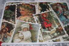 Makerist - Nostalgie Platzdeckchen Weihnachten Advent genäht und bestickt - 1