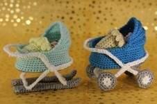 Makerist - Kleiner Kinderwagen, Kinderwagen-Schlitten - 1