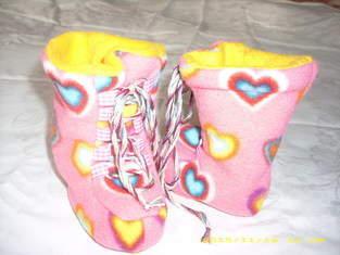 Makerist - Babystiefel aus Fleece für K. - 1