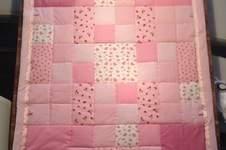 Makerist - Babydecke aus Baumwoll-Webware und Nicki - 1
