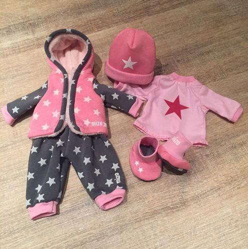 Makerist - Baby Annabell Herbst-/Winterkollektion aus Kuschelsweat - Nähprojekte - 1