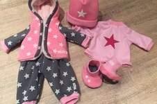 Makerist - Baby Annabell Herbst-/Winterkollektion aus Kuschelsweat - 1