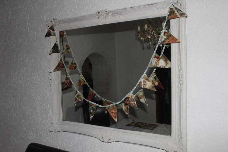 Makerist - Wimpelgirlande Advent Weihnachten Winter mit der Nähmaschine bestickt - Nähprojekte - 2