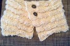 Makerist - Cowl aus Selbstgesponnenem - 1