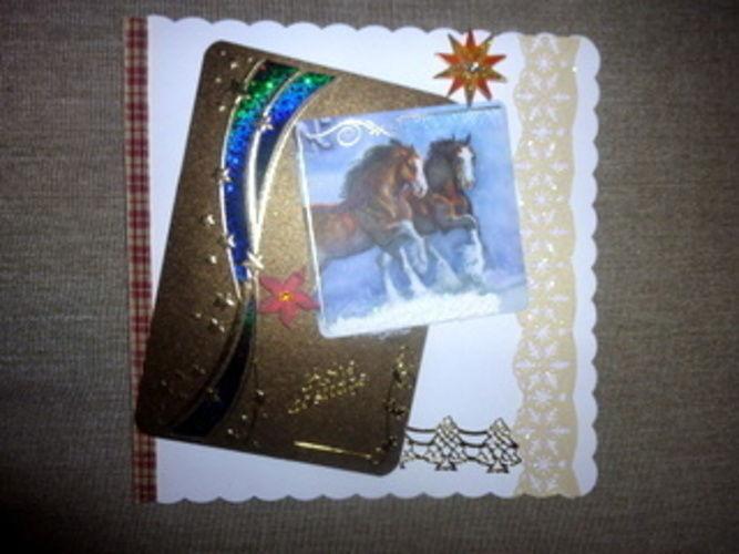 Makerist - Weihnachtskarte - DIY-Projekte - 1