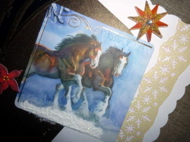 Makerist - Weihnachtskarte - DIY-Projekte - 2