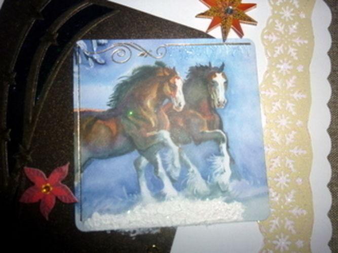 Makerist - Weihnachtskarte - DIY-Projekte - 3