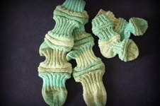 Makerist - Mojo-Socks für Mama und Baby - 1