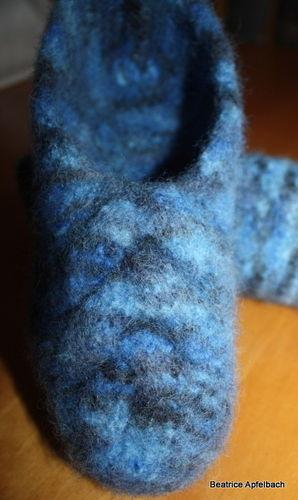 Makerist - Filzpuschen aus Strickfilz - Strickprojekte - 2