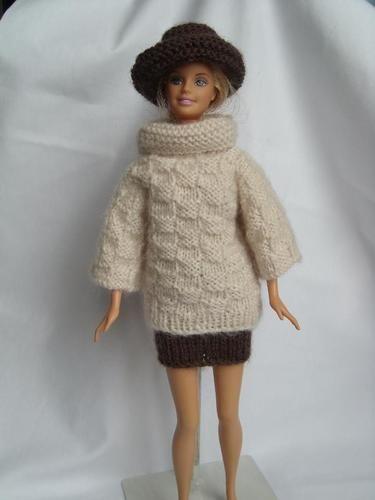 e0b1d90ea026 Makerist - vêtements tricotés pour poupées mannequin - Créations de tricot  - 1 ...