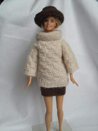 Makerist - vêtements tricotés pour poupées mannequin - 1