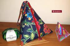 Makerist - Großes Pyramidentäschchen - 1