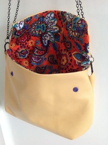 Makerist - Handtasche Poppy aus Kunstleder - Nähprojekte - 2