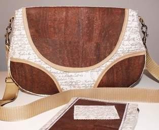 Makerist - Tasche Schnabelina mit Korkstoff  - 1