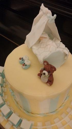 Makerist - Babytorte - Torten, Cake Pops und Cupcakes - 2