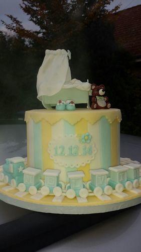 Makerist - Babytorte - Torten, Cake Pops und Cupcakes - 3
