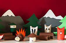 Makerist - Adventskalender Tiere im Wald - 1
