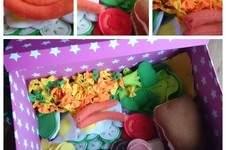 Makerist - Lebensmittel aus Filz für meine kleine Tochter zu Weihnachten für Ihre Spielküche - 1