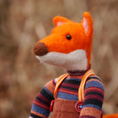 Makerist - OTTO der Fuchs - Filzprojekte - 2
