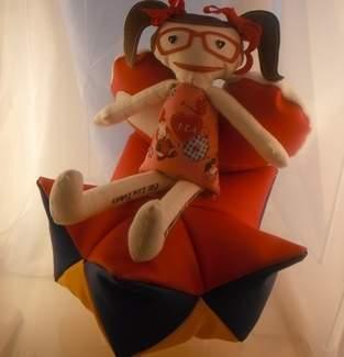 Makerist - Lea´s Püppi auf Sternenkissen  - 1
