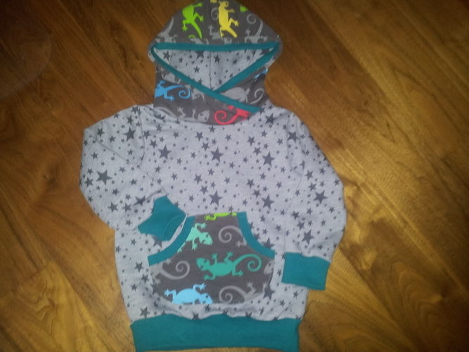 Makerist - hoodie herzbube - Nähprojekte - 1