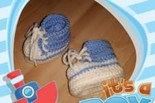 Makerist - Babyschuhe für mein 1.Enkelchen - 1