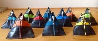 Makerist - Fahrradschlauch Pyramidentäschchen - 1