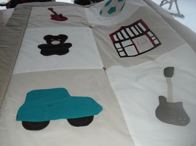 Makerist - Babydecke Vadim - Nähprojekte - 1