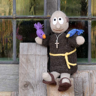 Makerist - FRANZ VON ASSISI Handpuppe - 1
